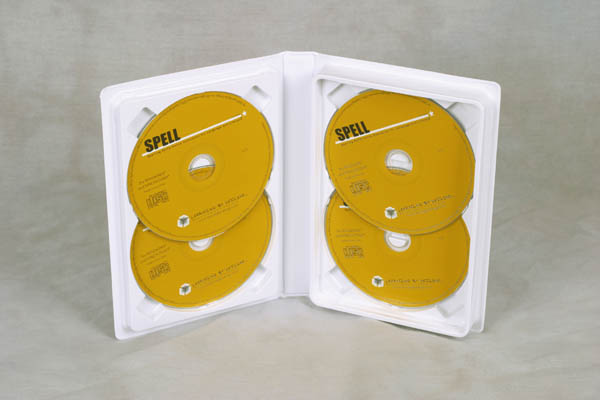 R3809 White 4 disc CD/DVD