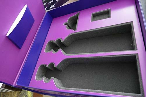 Unified Packaging Die Cut Foam box